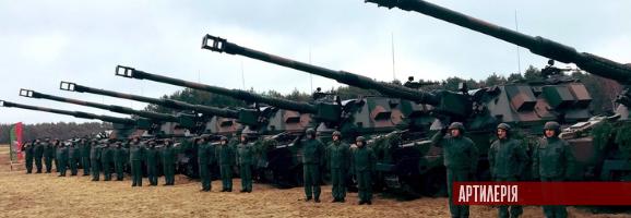 Польська армія отримала перші серійні САУ Краб