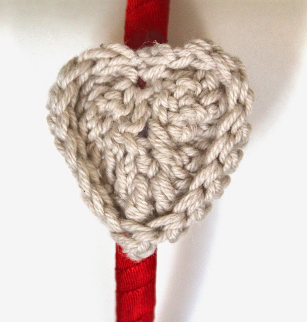 Diadema DIY niña corazón