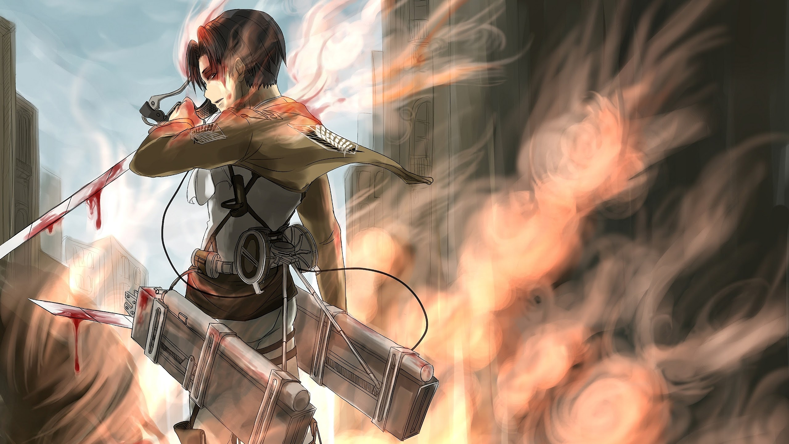 Levi Attack On Titan 4k Wallpaper 135