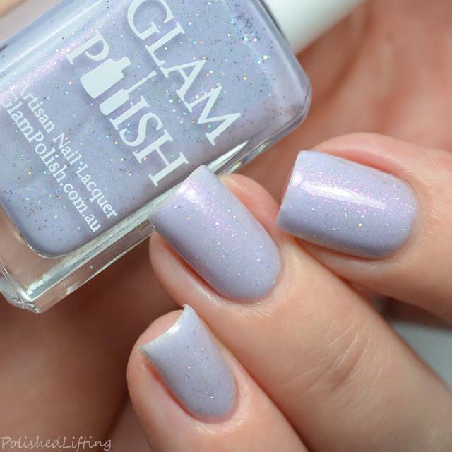 lavender holo nail polish