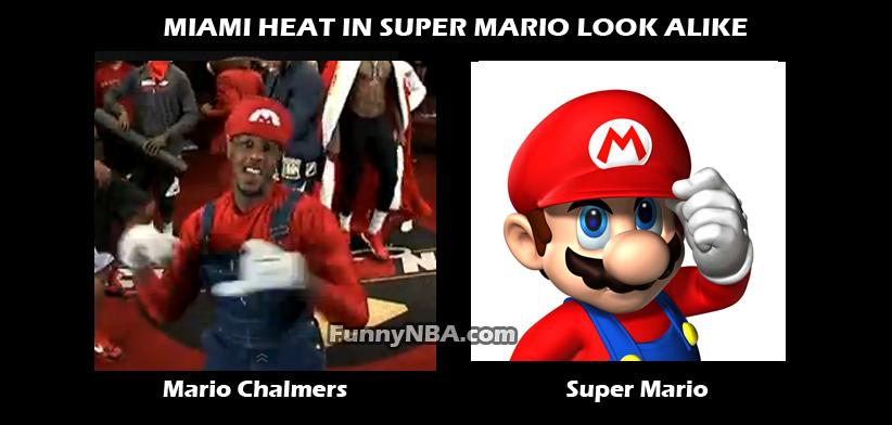 Super Funny Memes: Super Mario Bros Vs Miami Heat