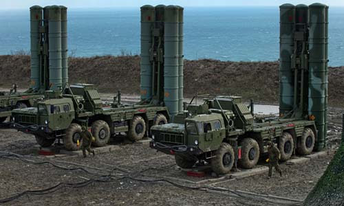 Indian air force lists Russian S-400 air defense system as top priority