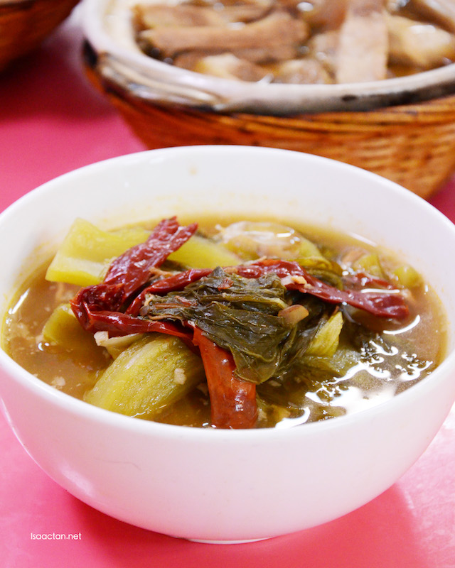 Salted Vegetables Hot & Sour dish - RM8