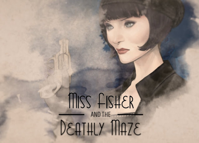 Miss Fisher and the Deathly Maze review