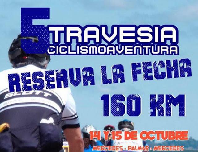 160 kms en dos días - Ciclismo aventura Mercedes - Palmar - Mercedes, 14y15/oct/2017)