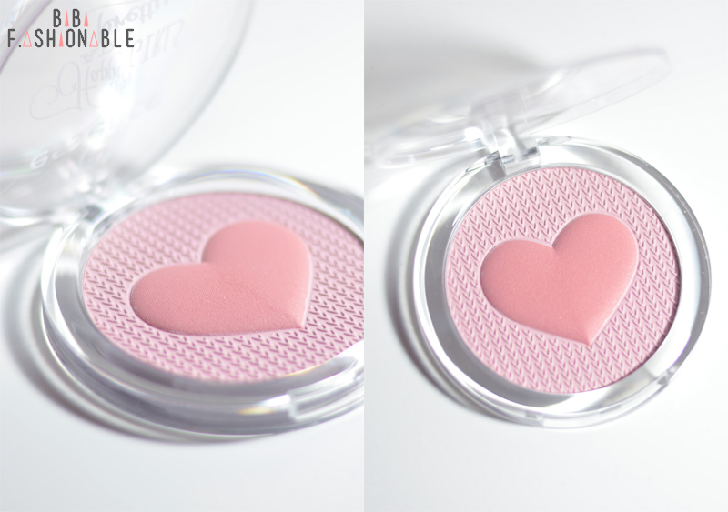 essence happy girls are pretty multi colour blush Detail