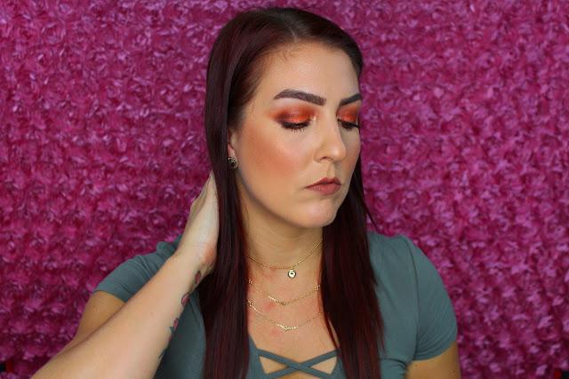 Tutorial: Fall Inspired Makeup Look