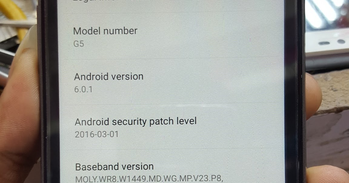 android mtk: Lg G5 mt6580 firmware 100% Tested