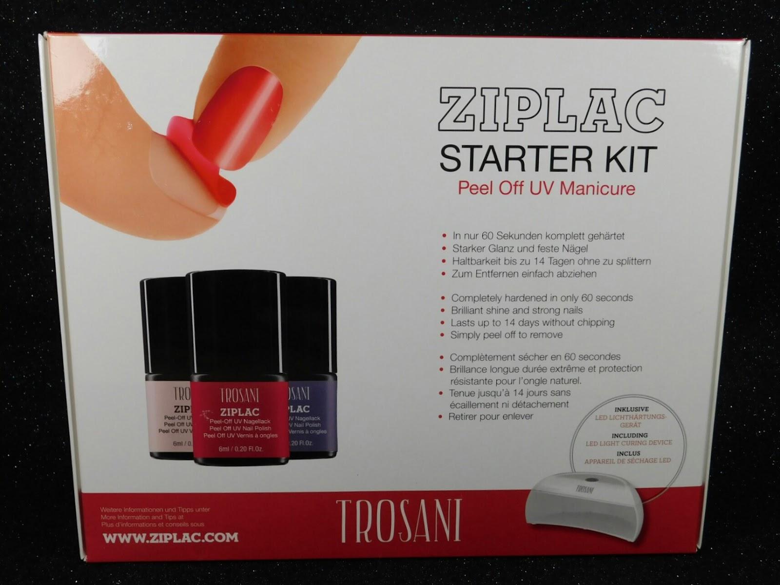 B Nailed To Perfection: Trosani UK product review - Polish and gel kit