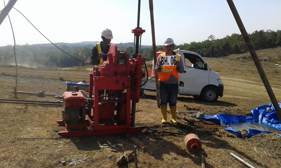 Sondir Cpt Spt Hand Bor Soil Test Ambon Maluku