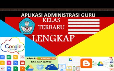 Aplikasi Administrasi Guru Kelas Lengkap Gratis