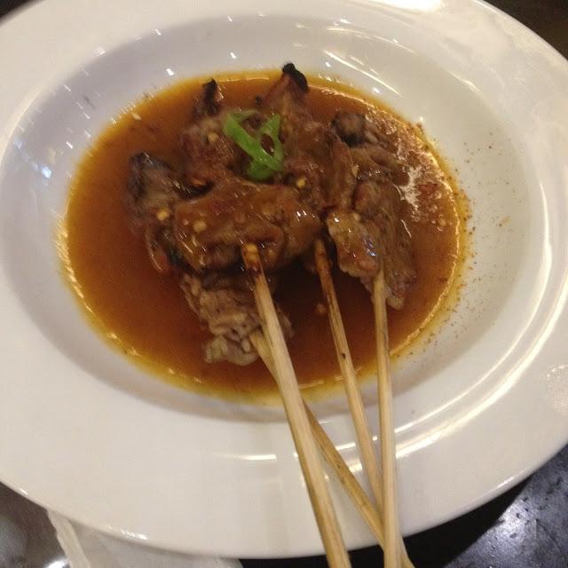 Beef satay at Isidra Comfort Cantina