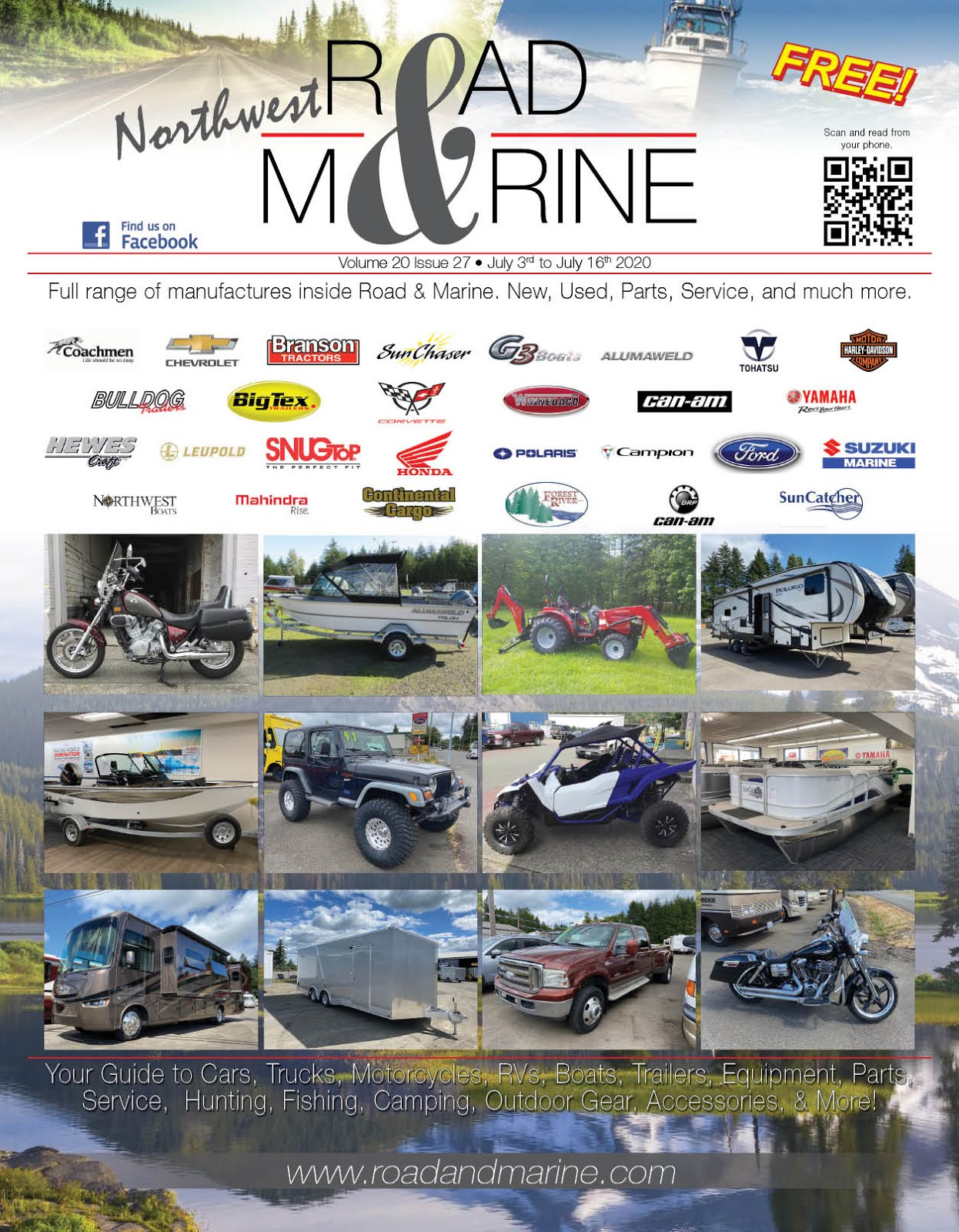 Buying-Selling-Trading? Then Check Out NW Road & Marine Magazine!!