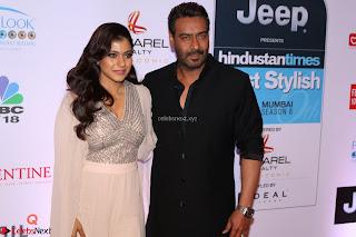 Red Carpet of Most Stylish Awards 2017 ~ Ajay Devgan and Kajol (2).JPG