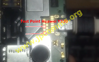 HUAWEI Y530-U00 FLASHING VIA QFILL