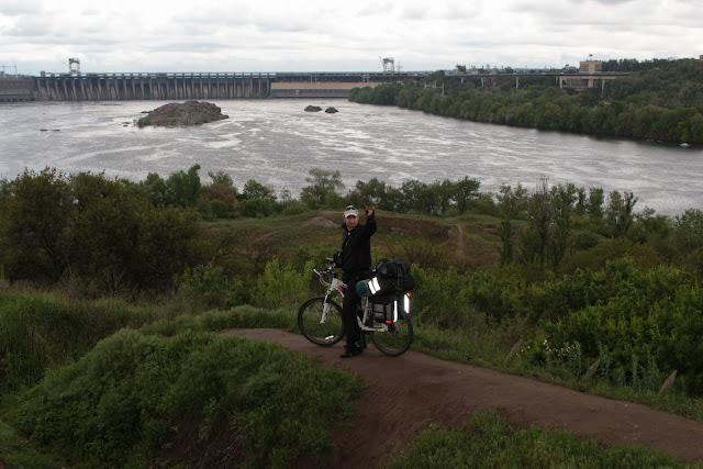 велосипедом на запарожскую сечь