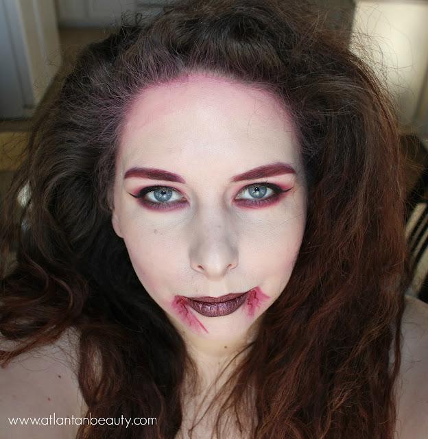 Glamorous Vampire Makeup