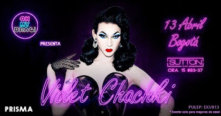 FIESTA Oh My Drag! con Violet Chachki