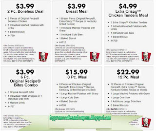 Free Printable Kfc Coupons