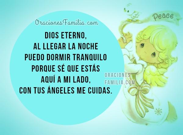 Oración de la noche, oraciones para dormir tranquilo, oración de protección, buenas noches con plegaria para descansar por Mery Bracho