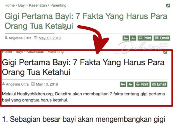 Cara Menghilangkan Link Pada Judul Postingan Blogger untuk Meningkatkan SEO