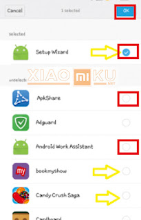 sembunyikan aplikasi di xiaomi dengan app visible
