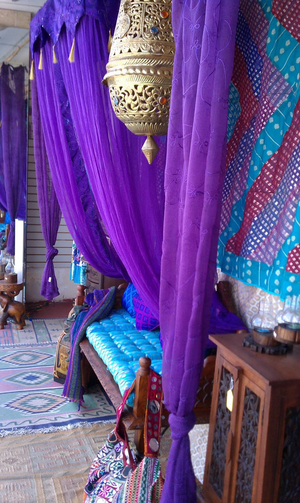 Pantone Color of the Year 2018 Ultra Violet Curtains Drapes Hanging Lamp Bazaar Cushion Bench