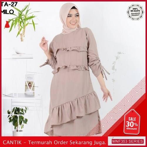 MNF353B121 Baju Muslim Wanita 2019 Ta 27 Serut 2019 BMGShop