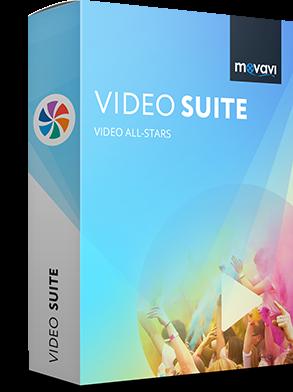 افضل برنامج تصميم فيديو احترافي للكمبيوتر Movavi Video Suite
