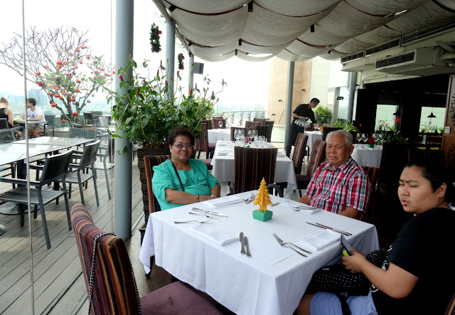 Lunch at Shri Restaurant & Lounge in Ho Chi Minh City, Vietnam