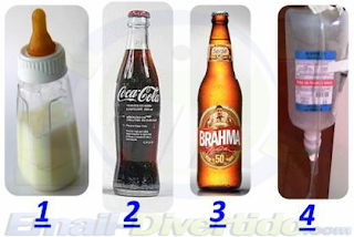 email divertido rir humor garrafas coca cola soro bahamas cerveja vida