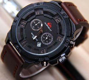 Jam Tangan Quiksilver QS6381 Black - Brown  11cd45c1ec