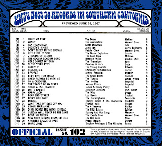 KHJ Boss 30 No. 102 - June 14, 1967