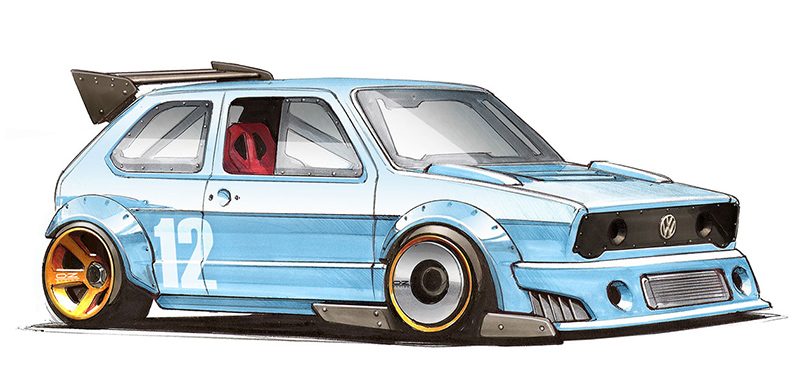Simple Car Drawing