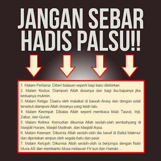 Image result for hadis palsu