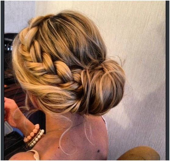 27 beautiful side updo hairstyles hairstylo easy braids updo hairstyle side view pmusecretfo Gallery
