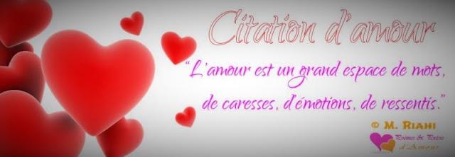 Magnifique citation d'amour