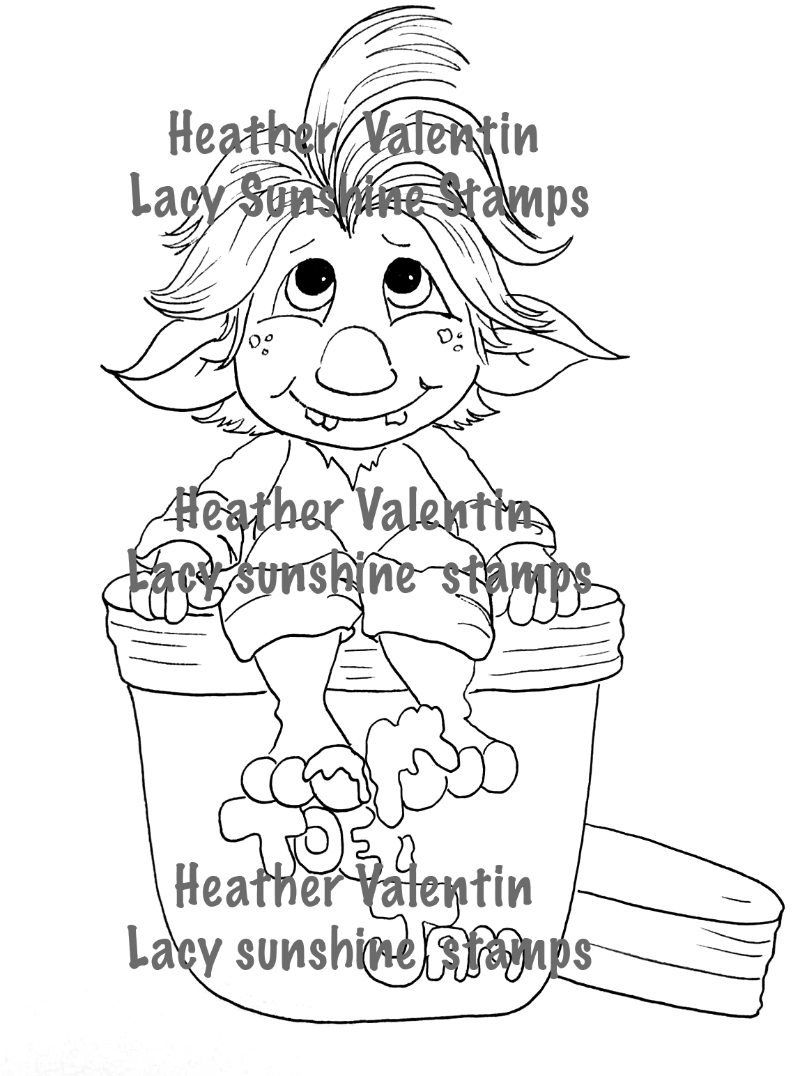 troll coloring pages of a group coloring pages