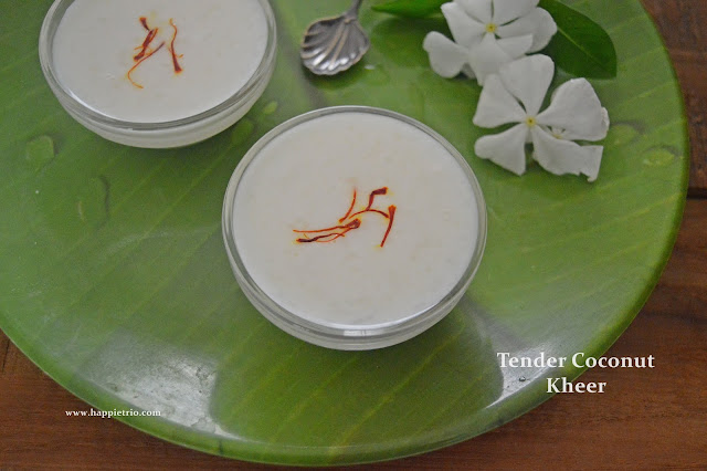 Tender Coconut Kheer Recipe | Elaneer Payasam