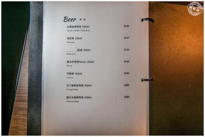 高雄DUAetage15餐廳菜單啤酒