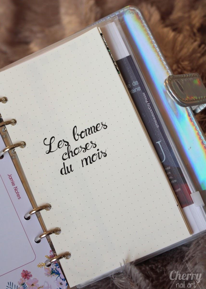 bullet-journal-idée-page-les-bonnes-choses-du-mois