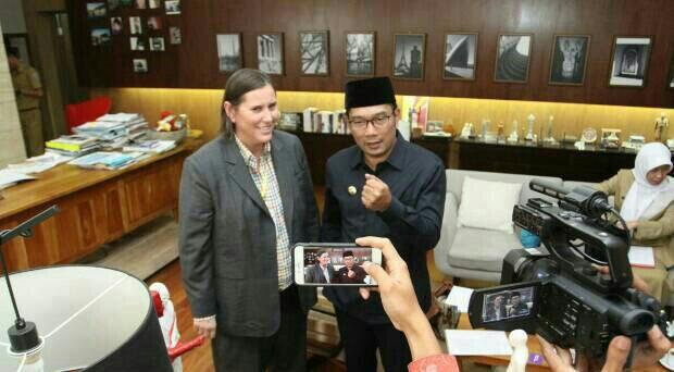 Wali Kota Bandung Terima Audiensi Bloomberg & The Union