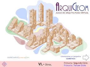 ARQUIGEOM. Juego de arquitectura virtual