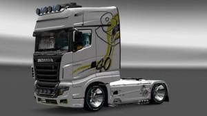 Scania R700 DS skin mod