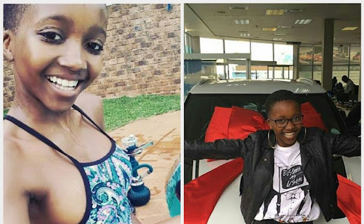 Scandal's Mvelo Makhanya Blesses Herself With A New Cool Car