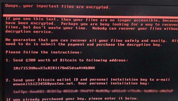 Nuevo ciberataque: El primo de WannaCry se llama Petya