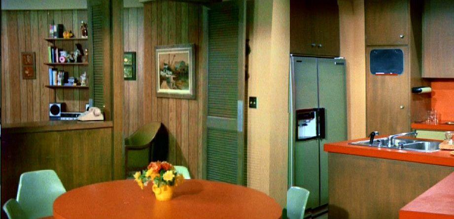 Brady Bunch Kitchen Table