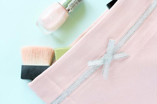 DIY Kosmetiktasche zum Selberbasteln
