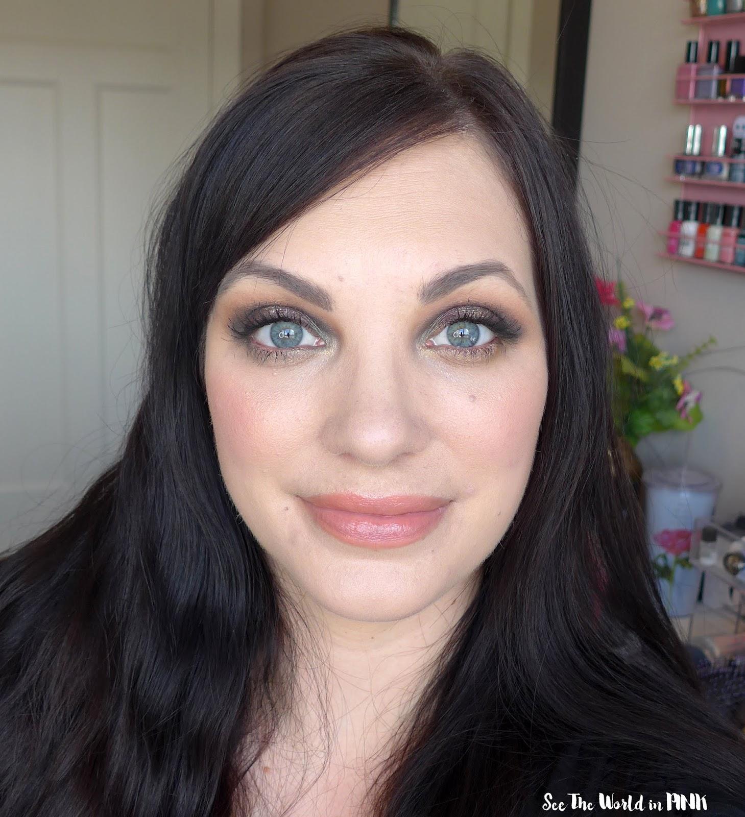 Urban Decay Game of Thrones Eyeshadow Palette and Sansa Stark Vice Lipstick