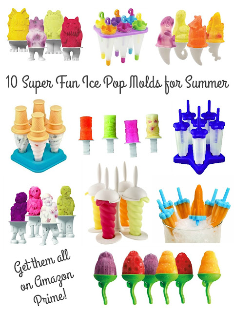 Whether you are already a fan of making your own ice pops at home or if you happen to be a newbie who wants to get started, you are going to love this collection of 10 Super Fun Ice Pop Molds for Summer.